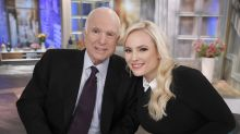 Meghan McCain responds to Twitter user who tried to shame her for publicly grieving her father on Christmas