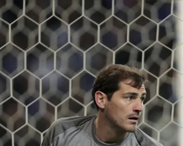cdabae31197 FC Porto goalkeeper Iker Casillas rushed to hospital due to heart attack  suffered during training