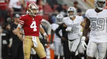 Nick Mullens says Kyle Shanahan told him he's the Week 10 starter