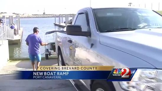 New Port Canaveral boat ramp allows free access for recreational boaters
