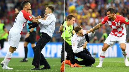 World Cup final descends into pitch invasion chaos