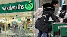 Woolworths customer praises staffer's 'beautiful act' at checkout