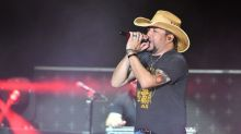 Jason Aldean pays tribute to Route 91 Harvest victims: 'This will always be a tough day for us'