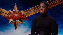 WATCH: New Marvel star Lashana Lynch talks about 'Captain Marvel' film