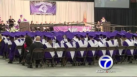 APS student graduates with a 5.0