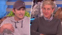 Here's why Ashton Kutcher brought Ellen DeGeneres to tears