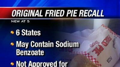Fried Pies From Oklahoma Restaurant Recalled