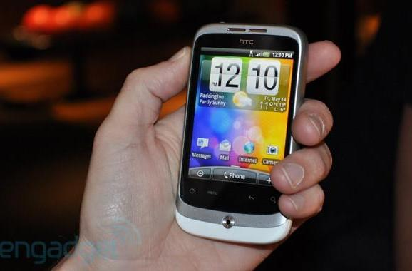 HTC Wildfire hands-on (update: video!)