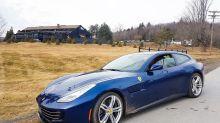 Aprés ski in a Ferrari GTC4Lusso? Why not