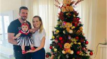 """Thaeme planeja primeiro Natal com a filha: """"Mais especial"""""""