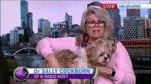 Doctor Sally Cockburn saved by her dog