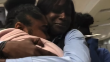 Students have tearful reunion with bus driver they saved during medical emergency