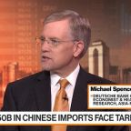 U.S. Consumers Will Start to Feel Tariffs, Says Deutsche Bank's Spencer