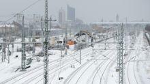 Nach Schneefall Verkehr an den Bahnhöfen Leipzig und Halle zeitweise eingestellt