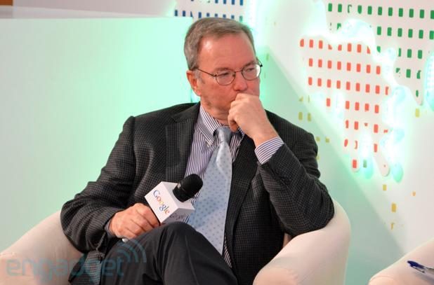 Google's Eric Schmidt slams NSA over 'outrageous' data center snooping and privacy invasion