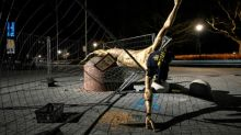 Statue of limitations: Vandalised Ibrahimovic sculpture to stay in Malmo