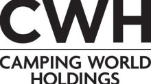 Camping World Holdings, Inc. Announces Date of First Quarter Fiscal 2021 Earnings Conference Call