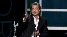 SAG Awards: So süß feiern sich Brad Pitt und Jennifer Aniston gegenseitig