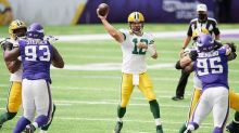 """Aaron Rodgers says it's """"absolutely crazy"""" if Mike Zimmer is on the hot seat"""