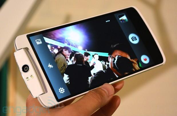 Oppo N1 hands-on (video)