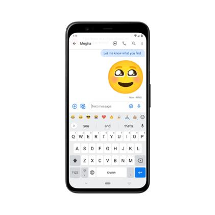 Google is beta testing a new emoji shortcut bar for Android