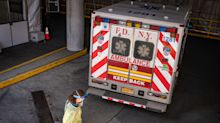 N.Y. Sees Third Day of Below-Peak Infections; Death Toll Jumps