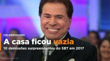 10 demissões surpreendentes do SBT em 2017