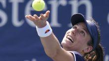 Johanna Konta beats Heather Watson in all-British US Open first-round clash