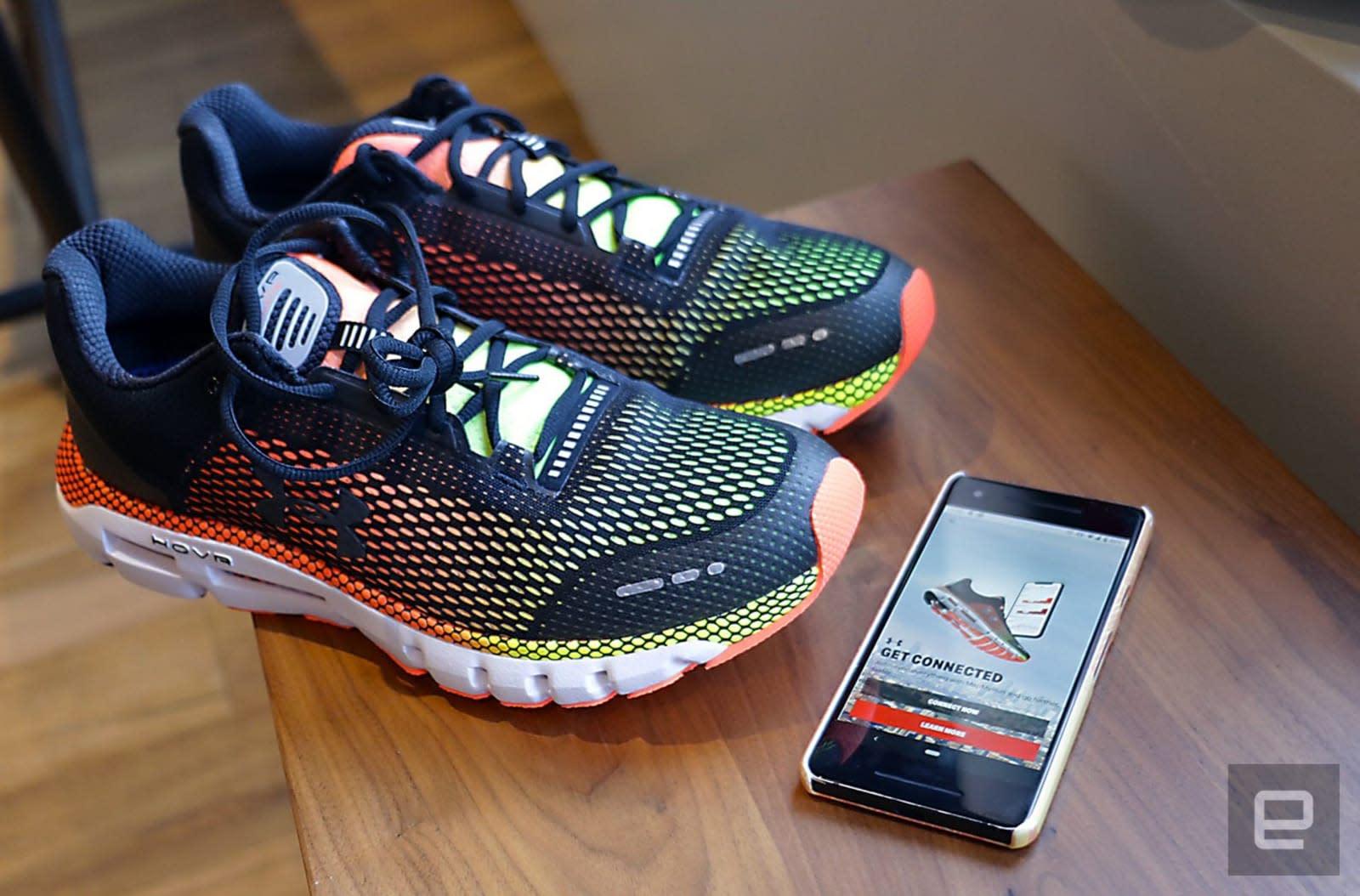 Under Armour'un HOVR bağlantılı ayakkabıları sizi daha akıllı bir koşucu yapmayı hedefliyor | Engadget