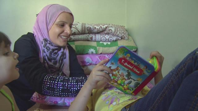 Syria: Displaced families seek shelter in Damascus schools
