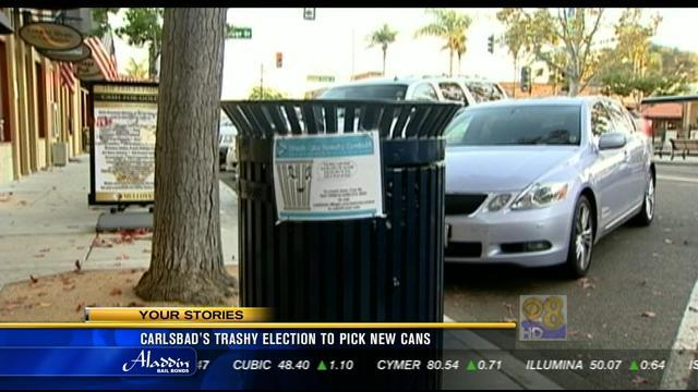 Carlsbad's trashy election to pick new cans