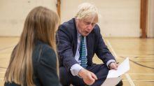 Boris Johnson visits school
