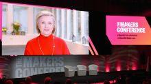 Rede zum Thema Feminismus: Hillary Clinton bewegt das Publikum bei der MAKERS Conference