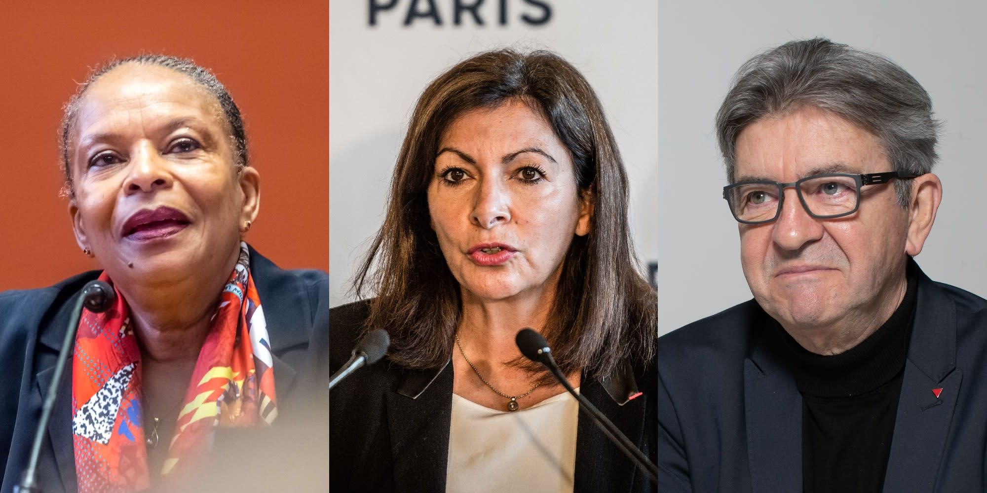 SONDAGE. Taubira, Hidalgo, Mélenchon, Hamon, Jadot : voici les favoris des sympathisants de gauche pour 2022