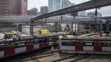MTR Train Carrying Passengers Derails in Hong Kong
