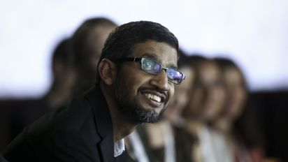 Google CEO set to cash in $380M award this week