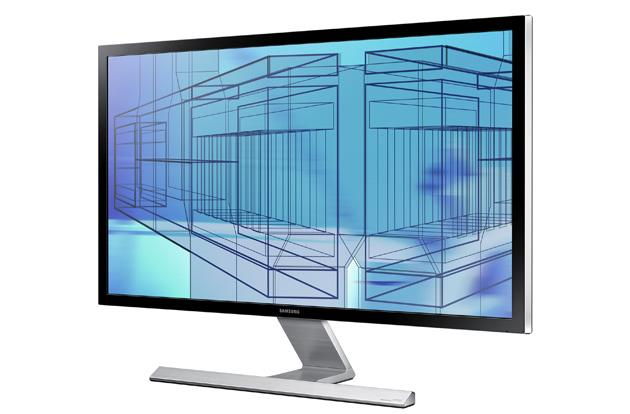 Samsung's new monitors include one with a billion-color, 3,840 x 2,160 screen
