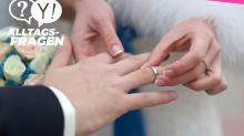 Alltagsfrage: Warum tragen die Deutschen den Ehering am rechten Finger – im Gegensatz zu vielen anderen Ländern?
