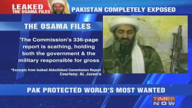 Scathing report on Laden leaked