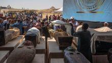 L'Egypte présente 59 nouveaux sarcophages en parfait état de conservation