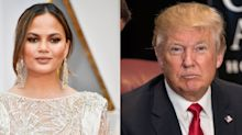 Chrissy Teigen Slammed Trump for His Recent Elizabeth Warren and #MeToo Comments
