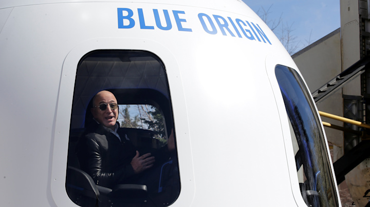 Jeff Bezos' launch into space will feel like being in 'a roller coaster in the sky'