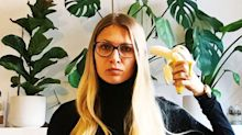 Women share banana selfies in protest after feminist artwork is removed