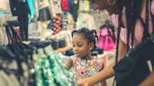 Is there a gender size gap for children's clothing?