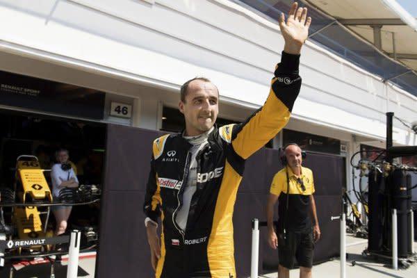 Robert Kubica有可能加盟Williams或Sauber車隊