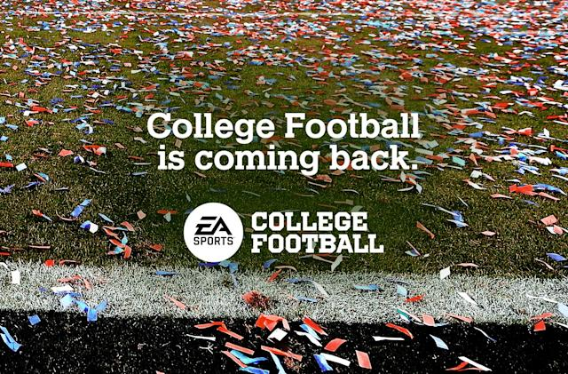 EA Sports is bringing back its college football game