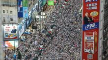 Hong Kong democracy protesters aim for massive turnout at rare sanctioned march