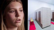 Teen's complaint after transgender student uses female locker room