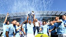Pictures: Manchester City lift the Premier League trophy and celebrate title win at the Etihad