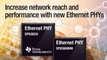 TI's new Ethernet PHYs simplify design and optimize network performance